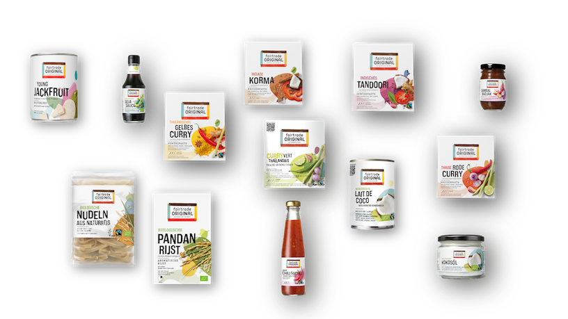 Fairtrade Original Asian product range