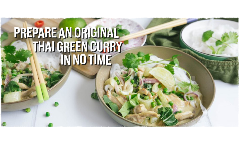 Fairtrade Original - Recipe Thai Green curry with chicken and pak choi